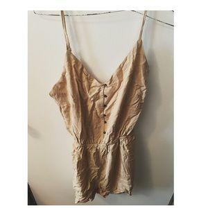 BNWT Ardene buttoned cami romper